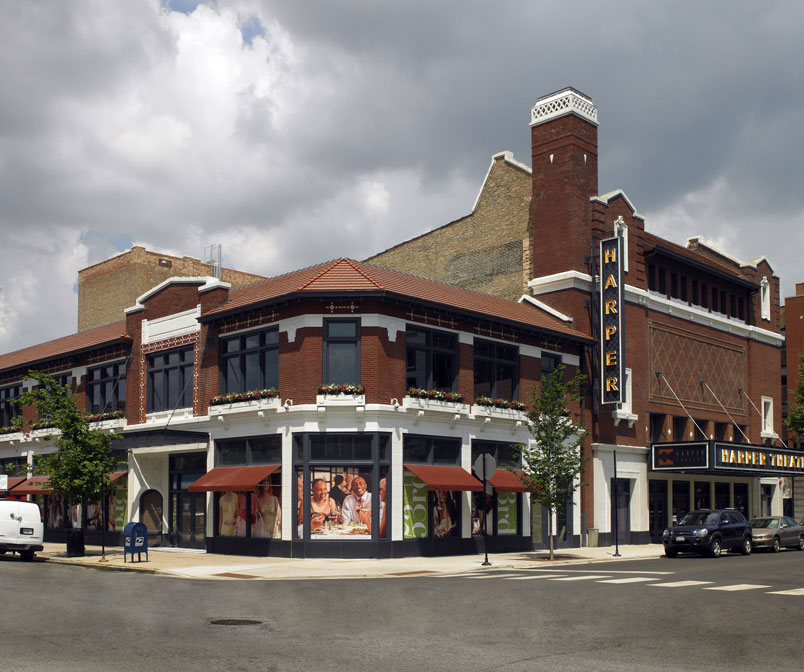 Harper Theater and Herald Building Adaptive Reuse